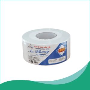 Giấy vệ sinh cuộn lớn An Khang Caro600