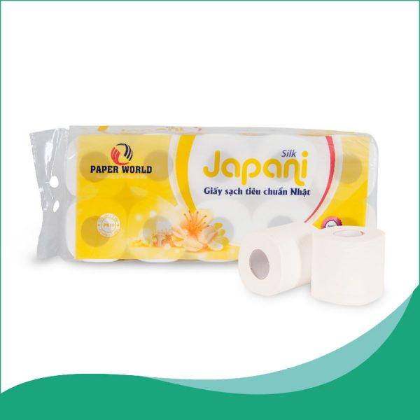 Giấy vệ sinh cuộn nhỏ Japani silk10