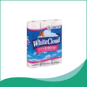 Giấy Vệ Sinh 3 Lớp White Cloud
