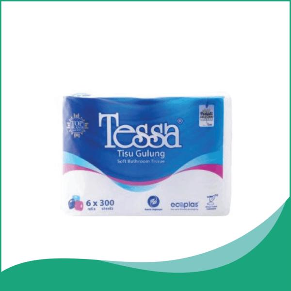 Giấy vệ sinh Tessa cuộn 6 lốc