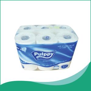 giấy vệ sinh cao cấp 12 cuộn